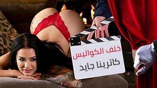 جدة خلف الكواليس كس لعق xxx أفلام عربية في Hqtube.org